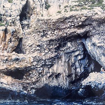 Die Höhlen von Apidima