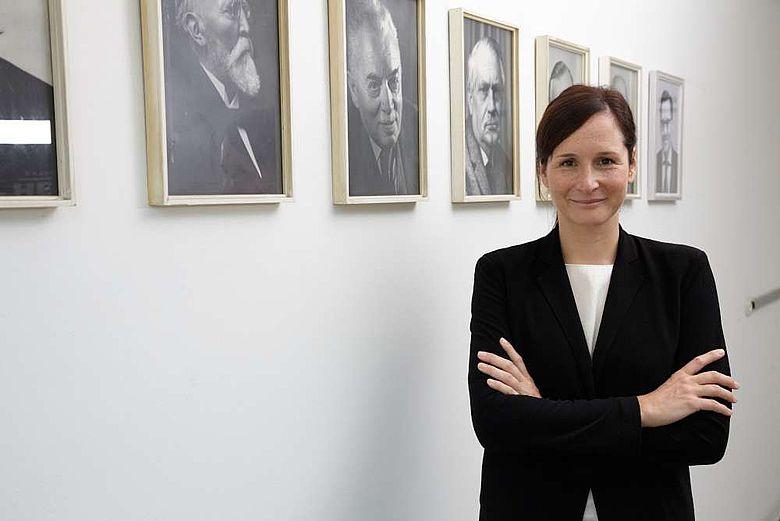 Die neue Generaldirektorin Univ.-Prof. Dr. Alexandra Busch
