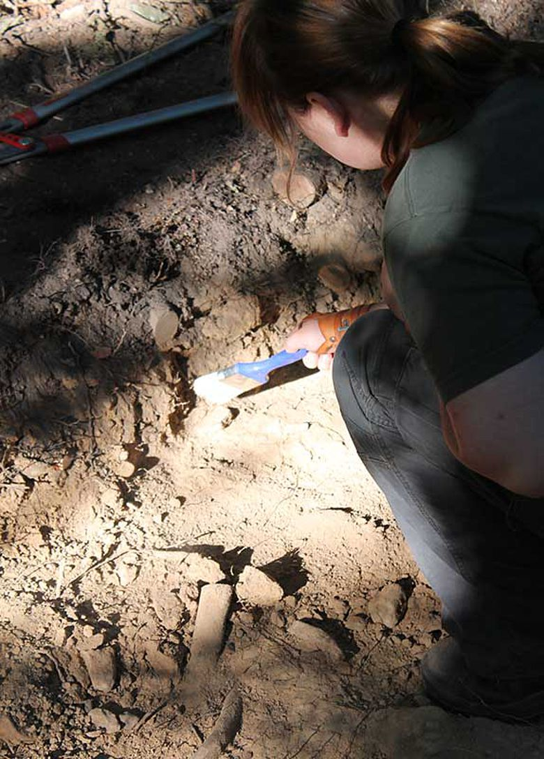 Ausgrabung Kapellenberg