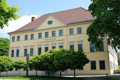 Das Museum für Ur- und Frühgeschichte im Poseckschen Haus in Weimar