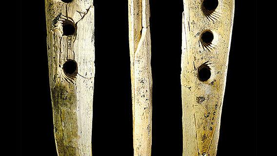 Werkzeug aus Mammutelfenbein