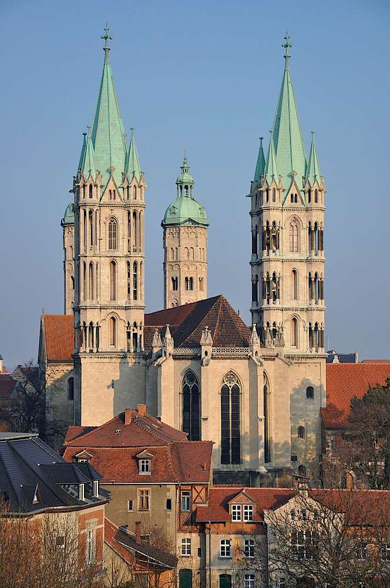 Außenansicht des Naumburger Doms