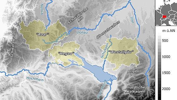 Bronzezeitliche Siedlungslandschaften in Süddeutschland