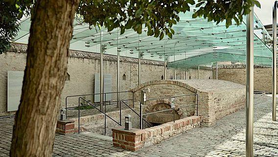 Eingang zur Speyerer Mikwe