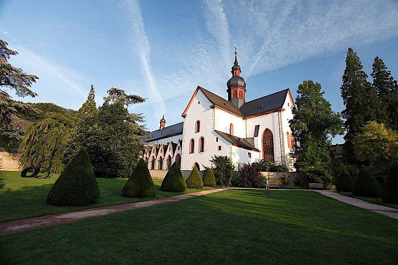 Die Basilika von Kloster Eberbach