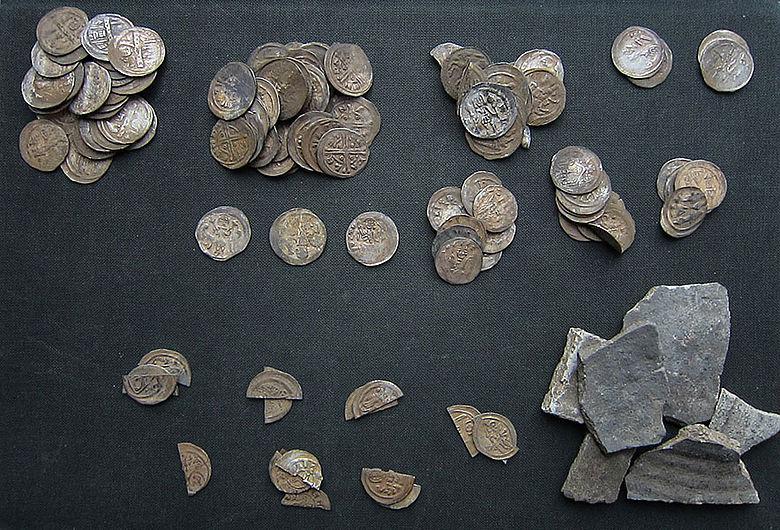 Mittelalterlicher Münzhort