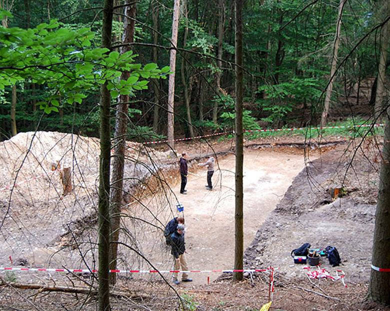 Ausgrabung Kapellenberg/Hofheim