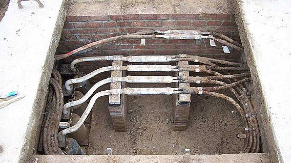 Porta Westfalica - Barkhausen: unbekannte technische Anlage (Foto:LWL/Best)