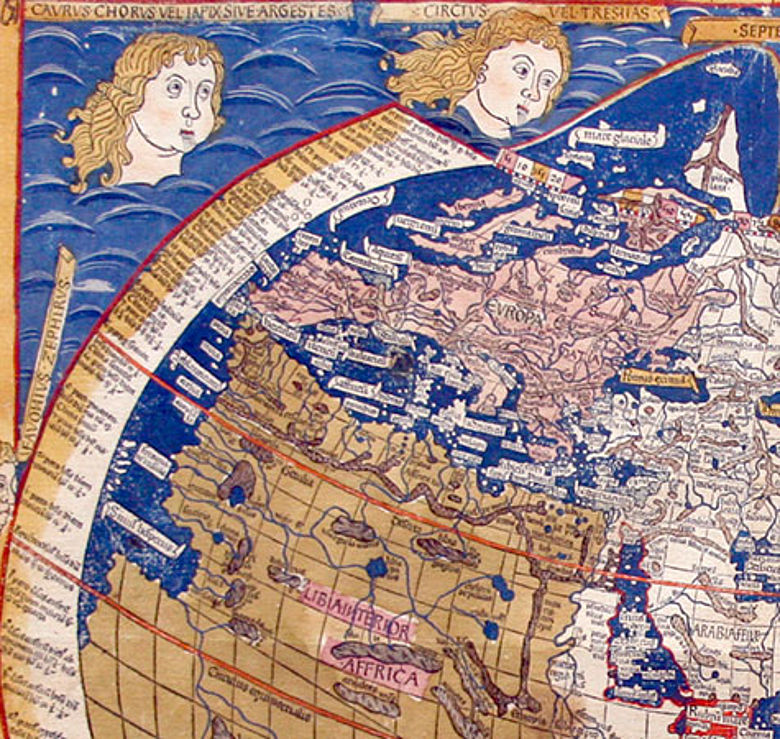 Weltkarte Ptolemaios