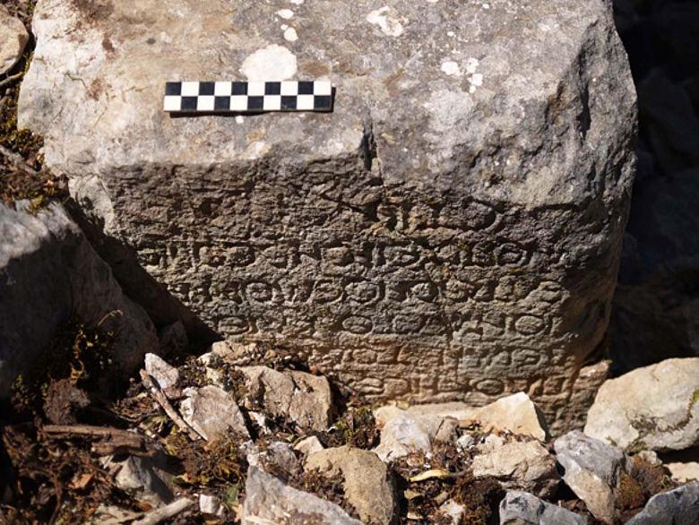 Inschrift Oinoanda/Lykien