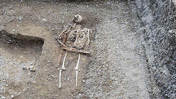 Das Reitergrab aus der Grabung in Nordendorf