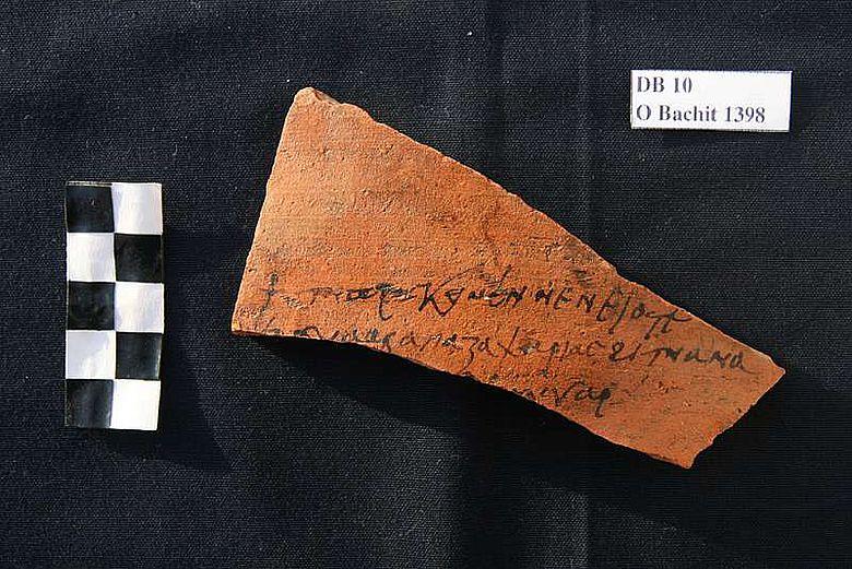 Brief an Apa Zacharias. (© DAI Kairo, LMU)