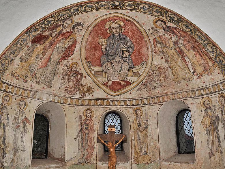 Mittelalterliche Wandmalerei in der Altmark