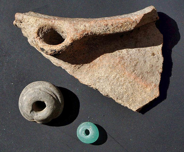 Funde aus der mittelalterlichen Hofstelle