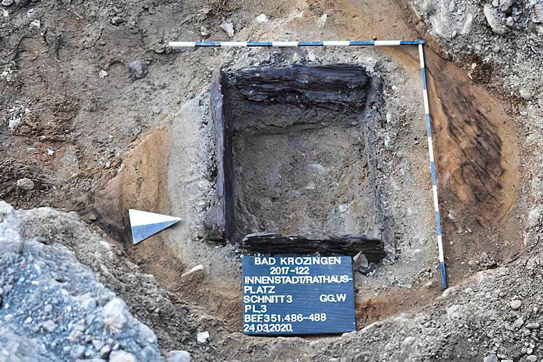 Römischer Brunnen in Bad Krozingen