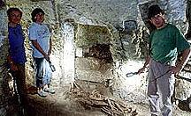 Der heilige Löwe des Grabes von Maia wird entschleiert
