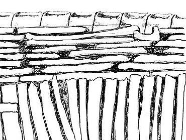 Idealisierte Funktionszeichnung (nicht maßstabsgerecht) (Zeichnung: Cornelia Biegisch, Hamburg)