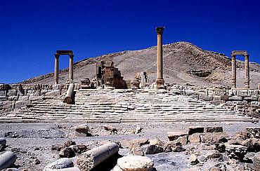 Palmyra: Fahnenheiligtum