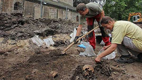 Ausgrabung Bauernkirche Iserlohn