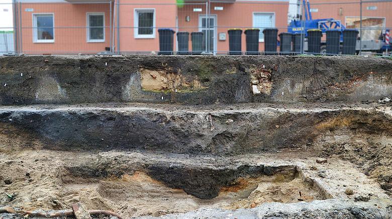 Graben des karolingerzeitlichen Kastells
