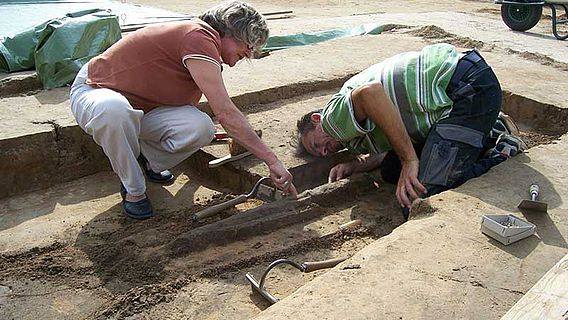 Ausgrabung Porta Westfalica