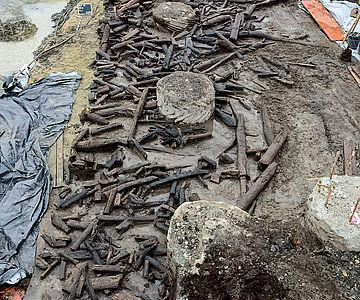 Holzbefund aus der Bronzezeit