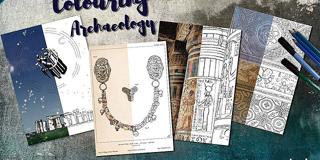 Crowdfunding Kampagne Colouring Archaeology