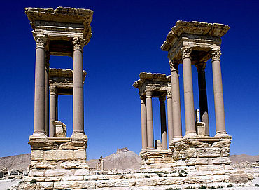 Palmyra: Tetrapylon