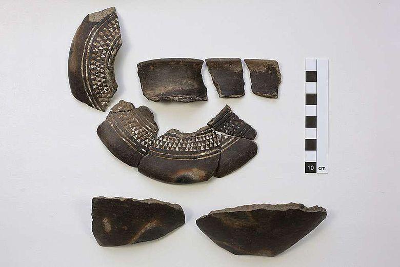 Ein kleiner Ausschnitt aus einer Vielzahl von Funden