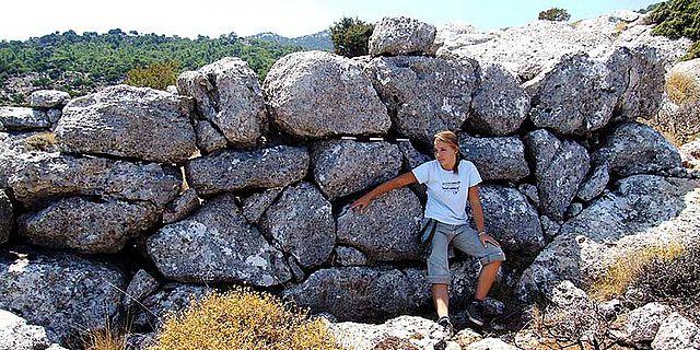 Kretas Bergminoer bauten weder Paläste noch Festungen - aber für die Ewigkeit