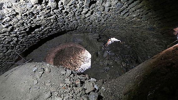 Innenaufnahme Gewölbekeller