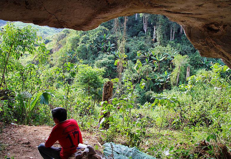 Tam Ham Marklot-Höhle, Laos