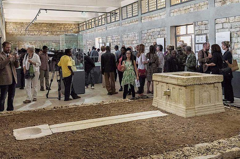 Eröffnung des Museums von Wuqro