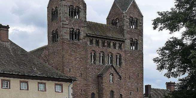 Die Abteikirche des Klosters Corvey