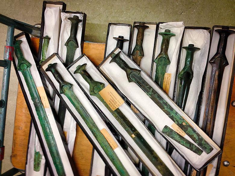Bronzezeitliche Schwerter