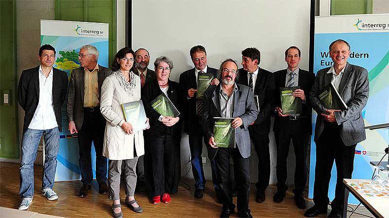 Präsentation des Abschlussberichtes »Erosion und Denkmalschutz am Bodensee und Zürichsee« © LAD BW