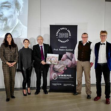 HUMAN ROOTS AWARD Preisträger Robin Dunbar