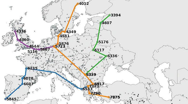 Neolithische Migration in Europa