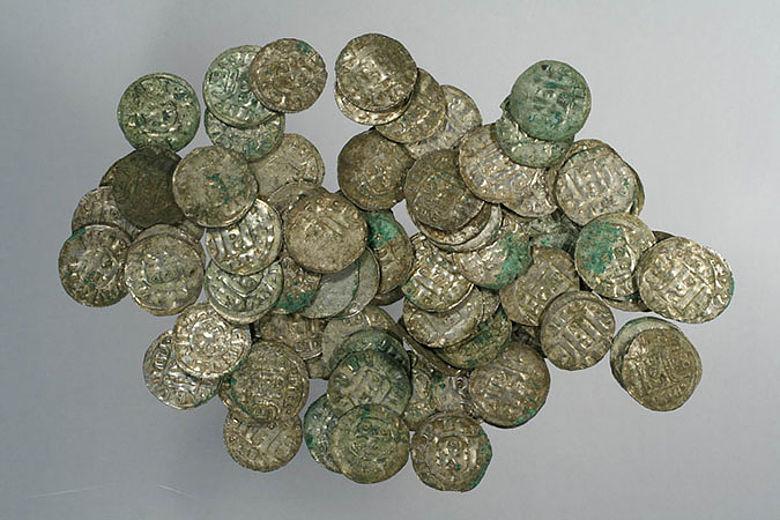 Münzschatz aus dem 12. Jahrhundert