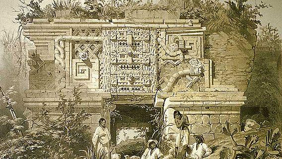 Maya Ruine