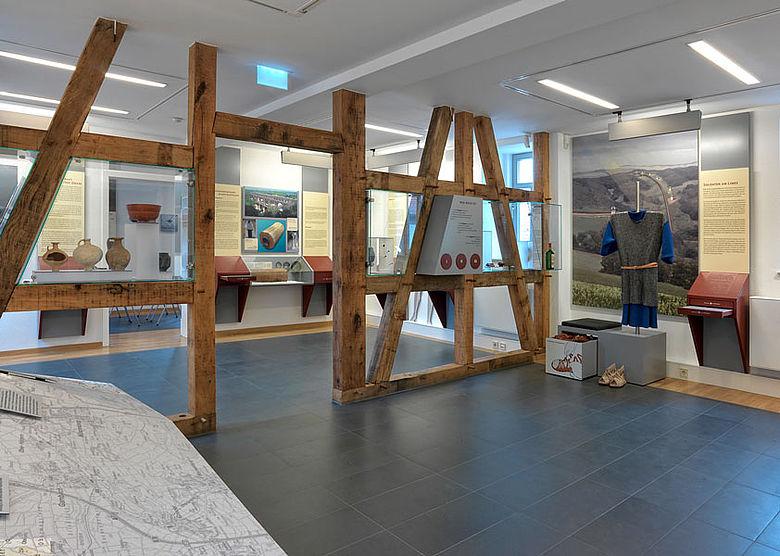 Räume mit der prämierten Dauerausstellung