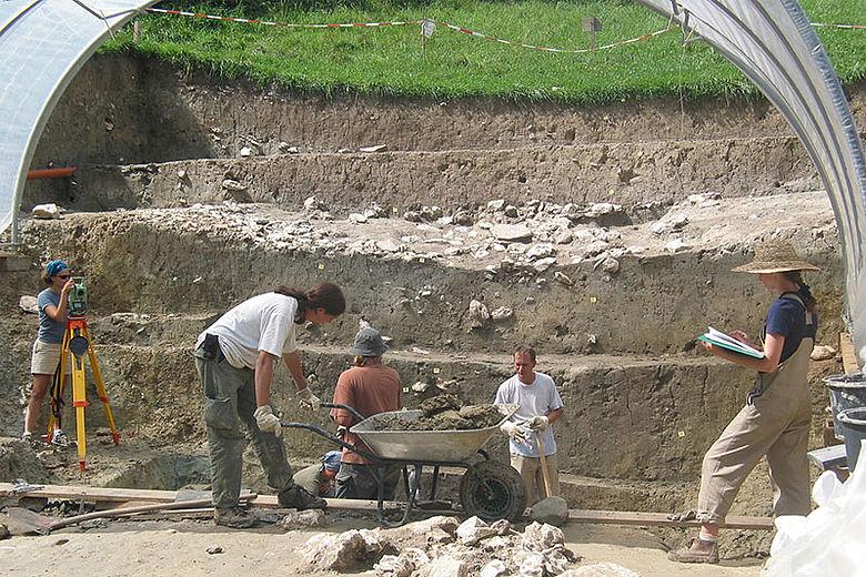 Ausgrabung Heuneburg