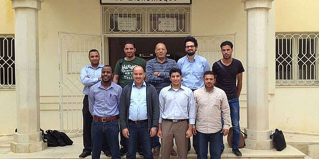 Teilnehmer des Kurses