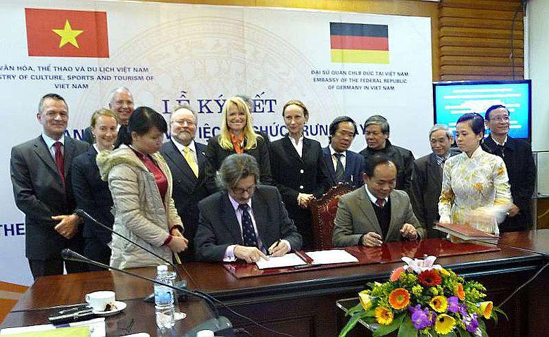 In Hanoi unterzeichneten Vertreter aus Deutschland und Vietnam eine Absichtserklärung. (Foto: LWL)