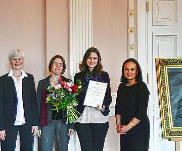 Verleihung des 18. Eduard-Anthes-Preises