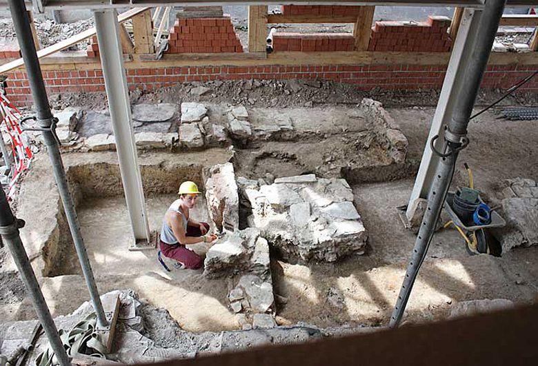 Ausgrabung Paderborn