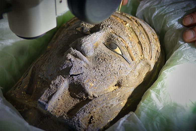 Silbermaske aus Sakkara