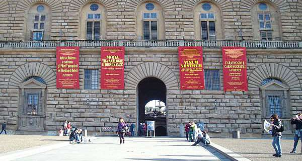 Palazzo Pitti, Florenz (Foto: Martina Müller)