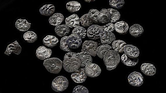 Spätkeltische Silbermünzen aus Merklingen