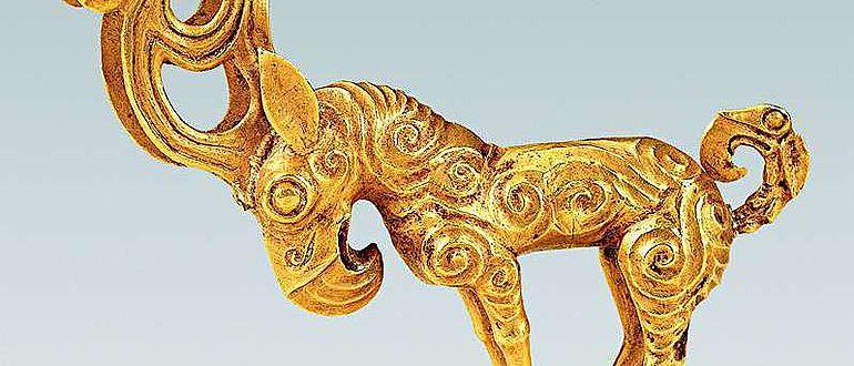 Eine in Shenmu gefundene Tierskulptur aus dem 3. Jahrhundert v. Chr.